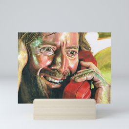 """Desmond Hume LOST """"the Constant"""" Mini Art Print"""