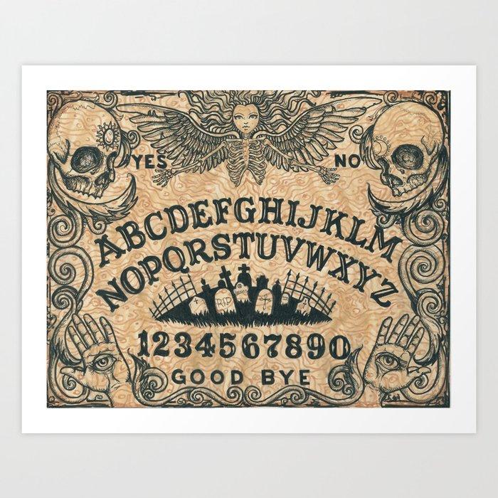 Ouija Board Kunstdrucke