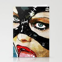 catwoman Stationery Cards featuring Catwoman by Ed Pires