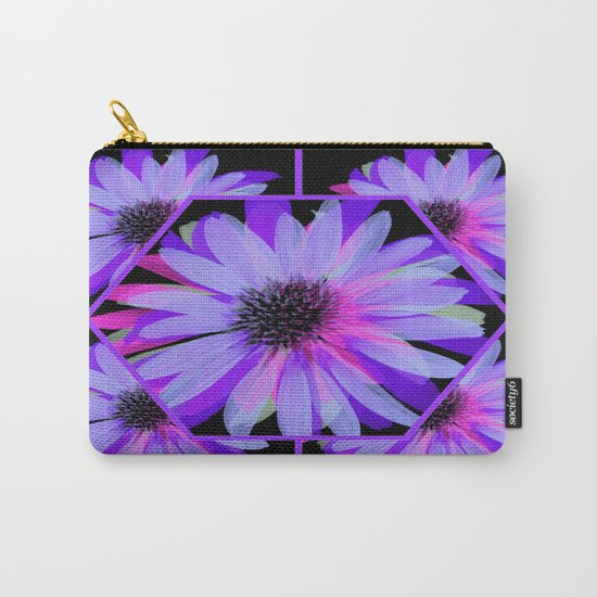 Elegant Painted Flowers  Carry-All Pouch