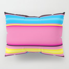 I'm Graphic Designer ! CMYK Print Color Palette Chart Pillow Sham