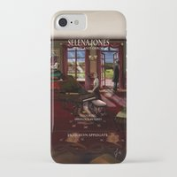 selena iPhone & iPod Cases featuring Selena Jones & Sherlock Holmes: Trial and Error by Applegate's Arts