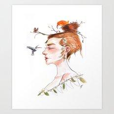 Nested Art Print