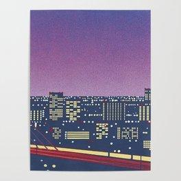 Hiroshi Nagai Vaporwave Shirt Poster