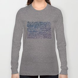 Signatures Purple Long Sleeve T-shirt