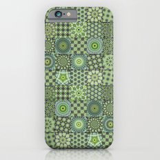 Green Valley Quilt iPhone 6s Slim Case