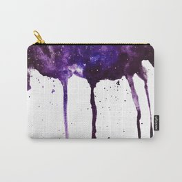 PERIWINKLE GALAXY SPLASH Carry-All Pouch