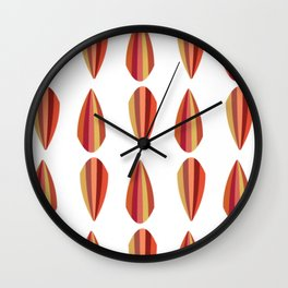 Scallop Wall Clock
