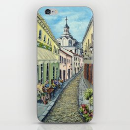 The Old Town, Vilnius iPhone Skin