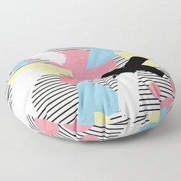 80's Theme Floor Pillow