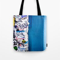 urban Tote Bags featuring Urban by Maite Pons