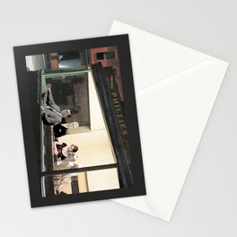 mad men characters are Hopper's Nighthawks Stationery Cards