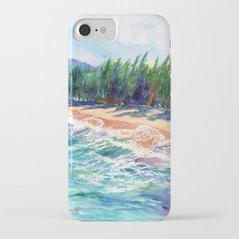 Kauai North Shore Beach 2 iPhone Case