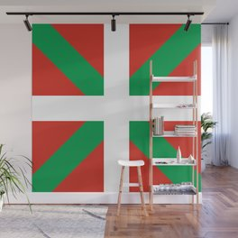 Basque Country: Euskaldun Flag Wall Mural
