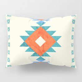 geometry navajo pattern no3 Pillow Sham