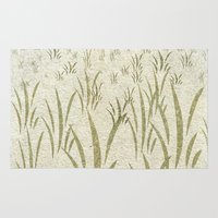 grass Area & Throw Rugs featuring Grass by Armin