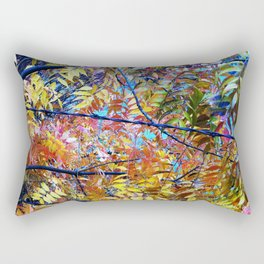 Pistachio Tree in the Fall Rectangular Pillow