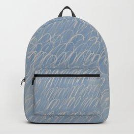 Cy Scribble in Chalk Blue Backpack