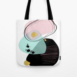 Modern minimal forms 9 Tote Bag