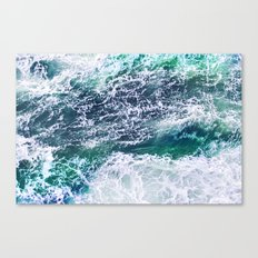 In Waves Canvas Print