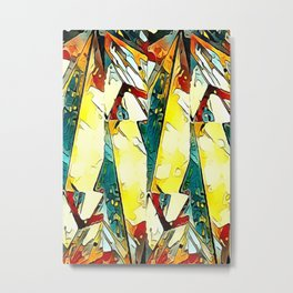 Fragmented abstract  Metal Print