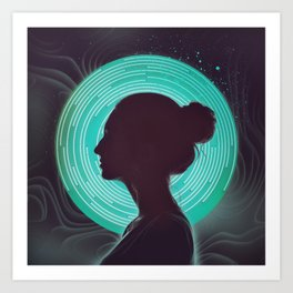 Delta Waves Art Print