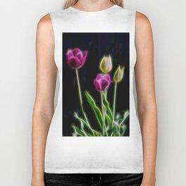 Tulips Brillant Fibers Biker Tank