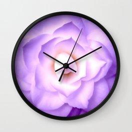 Lilac Bloom 3 Wall Clock
