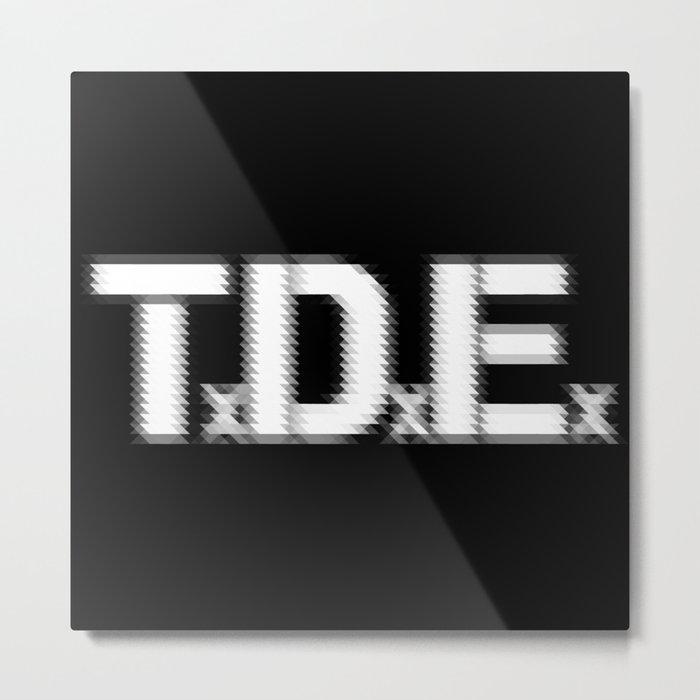TDE - Top Dawg Entertainment - Kendrick Lamar Metal Print