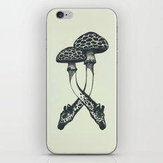 Mushrooms & Giraffe iPhone & iPod Skin