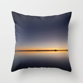 Salar De Uyuni Sunrise 1 Throw Pillow