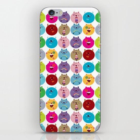 Cute bunnyballs iPhone Skin