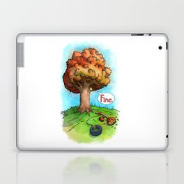 Trees Done With Life 2 Laptop & iPad Skin