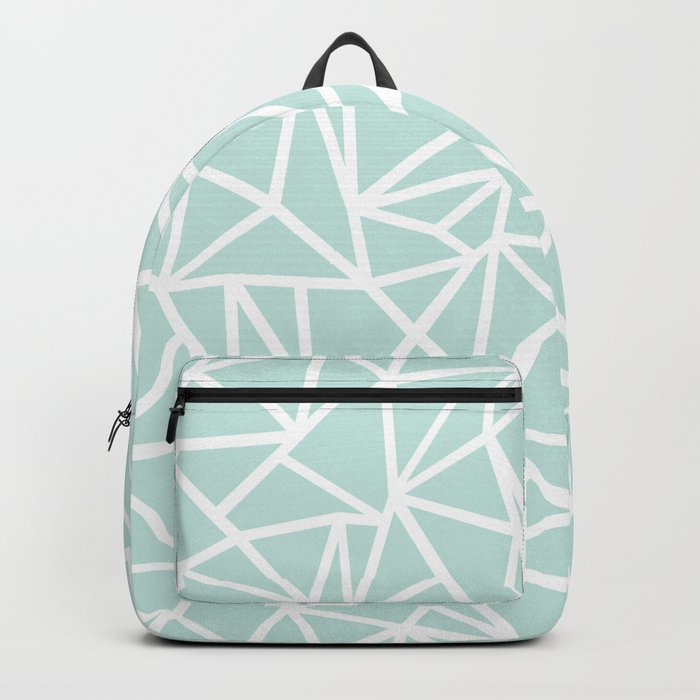 Ab Outline Thick Mint Backpack