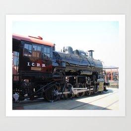 Illinois Central Locomotive No 790 Art Print
