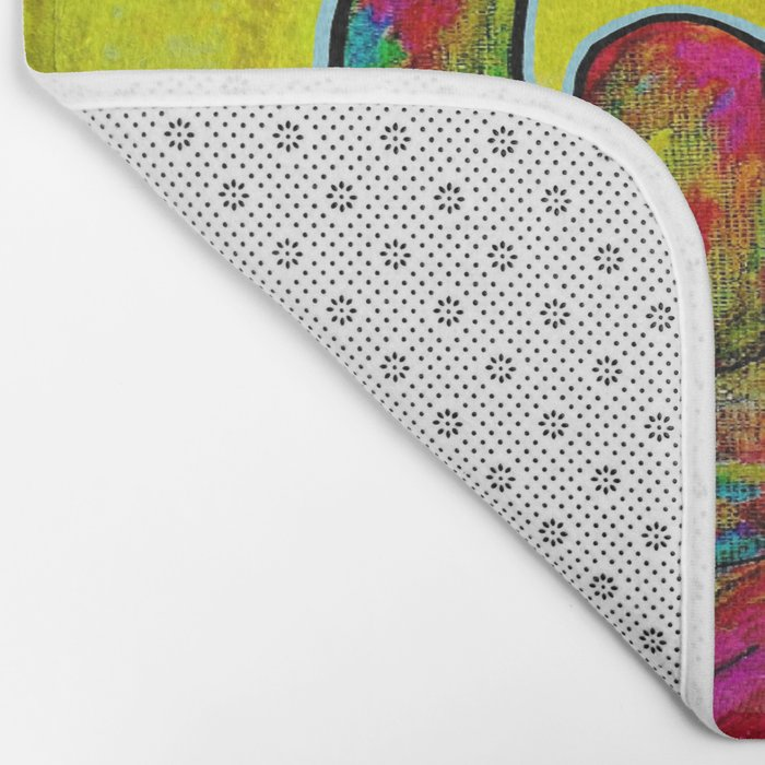 To the Moon and Back Bath Mat
