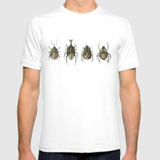 Beetle Morphology Mens Fitted Tee White SMALL