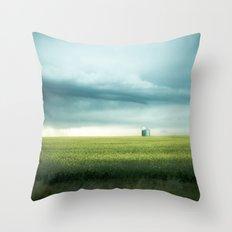 Alberta Prairies Throw Pillow