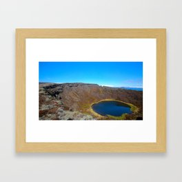 The Land of Fire and Ice 5 Framed Art Print
