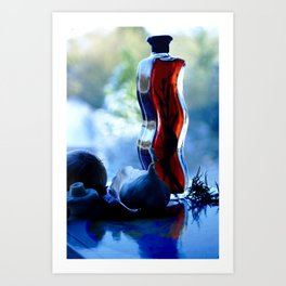 Vinegar & Onions Art Print