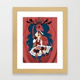 Alone, alone! Framed Art Print
