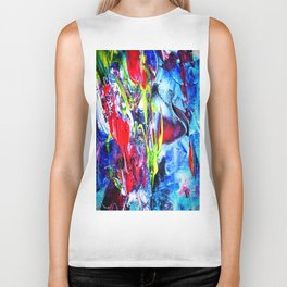 Abstract Perfection 6 Biker Tank