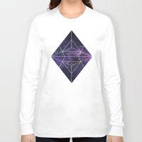 cosmic Long Sleeve T-shirts featuring Cosmic by Marta Olga Klara