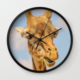Extraordinary animals-Giraffe Wall Clock