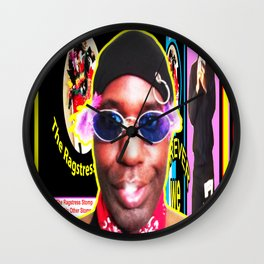 KEVIN CURTIS BARR ... Poster Wall Clock