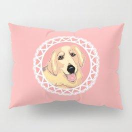 Golden Retriever Love Pillow Sham