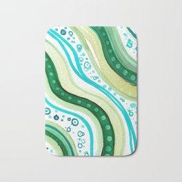 Abstract Ocean Bath Mat