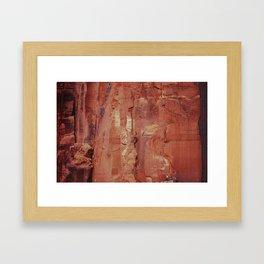 Desert Climber by Boone Speed Framed Art Print