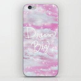 Dream Big in Pink iPhone Skin