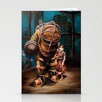 bioshock infinite Stationery Cards featuring Bioshock by Emily Blythe Jones